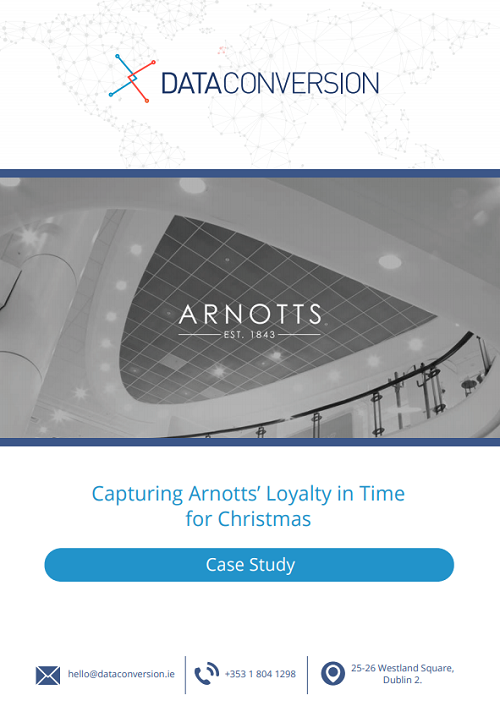 Dataconversion_Arnotts Case Study