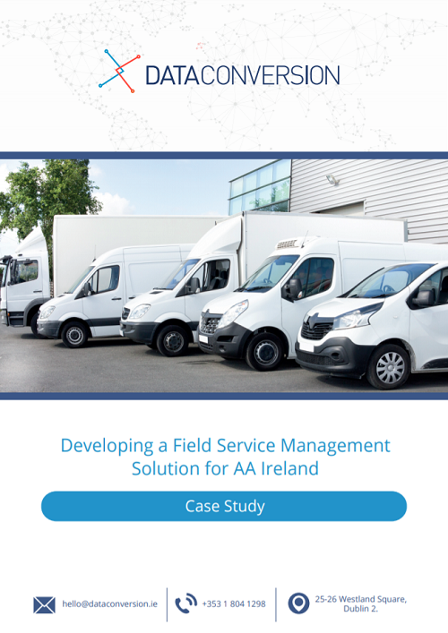 Developing a Field Service Management Solution for AA Ireland